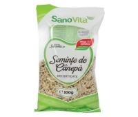 SEMINTE CANEPA DECORTICATE 100GR, SANO VITA