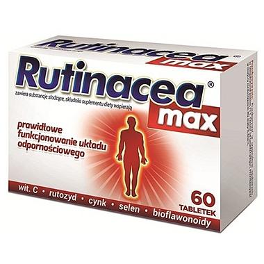 RUTINACEA MAX 60CPR, BIOMIGA