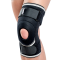 Orteza genunchi mobila cu suport rotulian cu benzi fixare