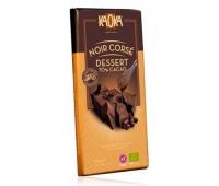 CIOCOLATA NEAGRA KAOKA NOIR CORSE DESSERT (min.70% continut cacao) ECO 200gr