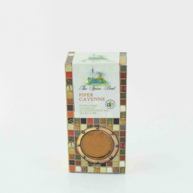 CONDIMENT-PIPER CAYENNE ECO 40g THE SPICES BOAT