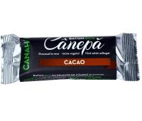 BATON DIN SEMINTE DE CANEPA & CACAO ECO 48gr CANAH