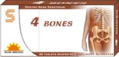 4 Bones pentru mentinerea densitatii osoase