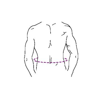 Corset toraco-lombo-sacral, JUNIOR