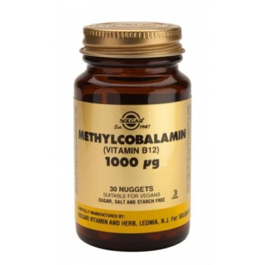 METILCOBALAMINA (VIT B12) 1000µg 30CPR