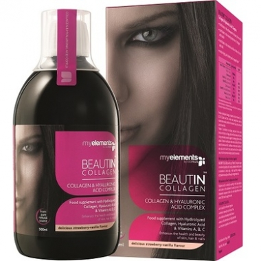 ME BEAUTIN COLLAGEN (CAPS. AND VANIL.) 500ML