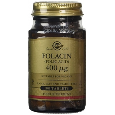 FOLATE (METAFOLIN) 400µg 50CPR
