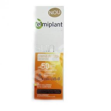 Crema de fata protectie solara ten sensibil SPF 50 - 50ML