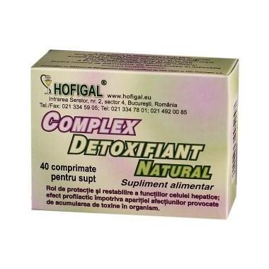 COMPLEX DETOXIFIANT 40CPR 2+1 GRATIS