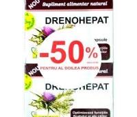 DRENOHEPAT 40CPS
