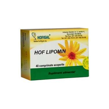 HOF LIPOMIN 40CPR 1+1 GRATIS