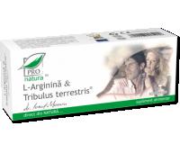 L-arginina si Tribulus Terrestris 30 capsule