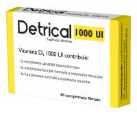 Detrical D3 1000 IU 60 cpr, Zdrovit