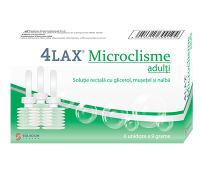 Microclisme adulti 4Lax, 6 unidoze x 9 g