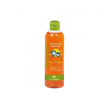 Rivadouce Junior Sampon si Gel Dus Miere si Fructe exotice, 500 ml