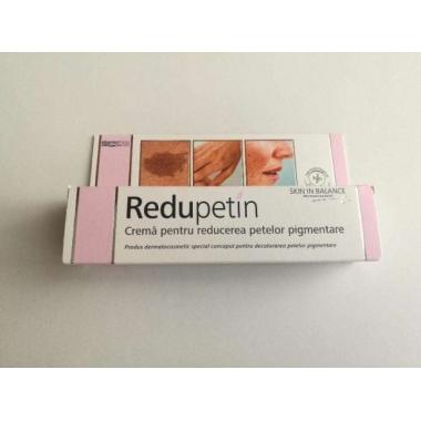 Redupetin Crema tratament, impotriva petelor pigmentare 20ml