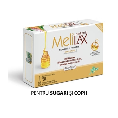 MELILAX MICROCLISMA COPII 6X5GR