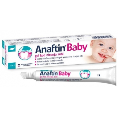 Anaftin Baby-Gel gingival pentru erupții dentare copii