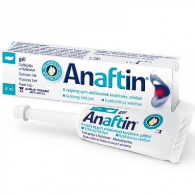 Anaftin gel impotriva aftelor bucale