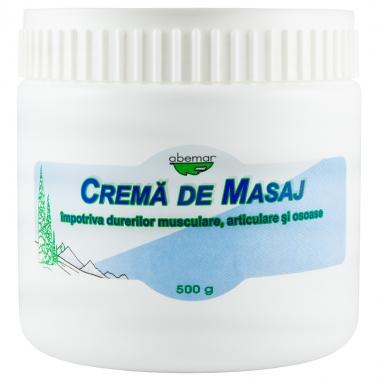 Crema masaj impotriva durerilor 500 gr, Abemar