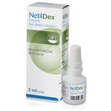 Netildex solutie oftalmica