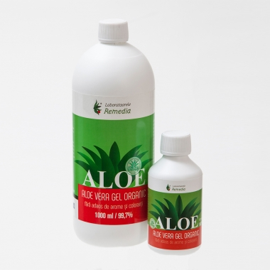 Aloe Vera Gel Organic 1000 ml, Remedia