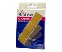 Plasturi sterili, plasturi rani 19 x 72 mm 100 buc/cutie Minut