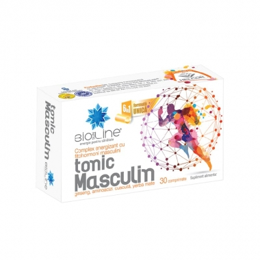 Tonic Masculin 30 comprimate, Helcor