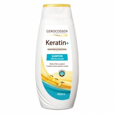 Sampon pentru volum cu keratina si pantenol - Keratin+ 400 ml
