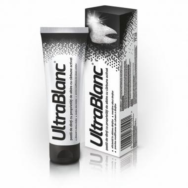 Ultrablanc pasta dinti albirea dintilor 75ml, Aflofarm