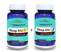 Sleep Duo Am/PM Zen Forte , 60+60 capsule GRATIS