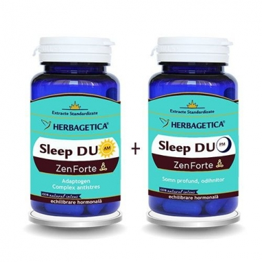 Sleep Duo Am/PM Zen Forte , 60+60 capsule GRATIS