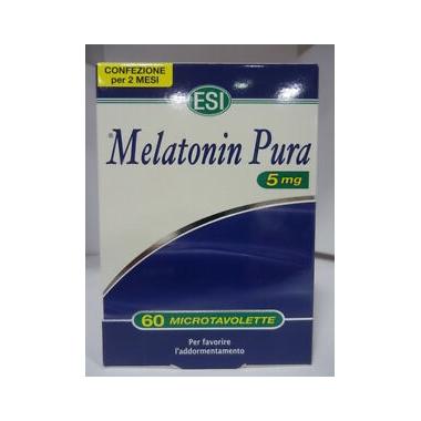 Melatonina Pura 5mg 60 Tablete