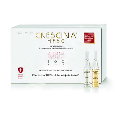 Crescina HFSC 100% 200 MAN*10+10 FIOLE
