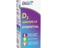 Ostart Essential D3 400 000 UI, picaturi