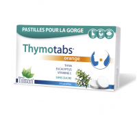 Thymotabs Orange +Vitamina C, 24 comprimate, Tilman