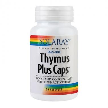 Thymus Plus Caps Solaray, 60 capsule, Secom