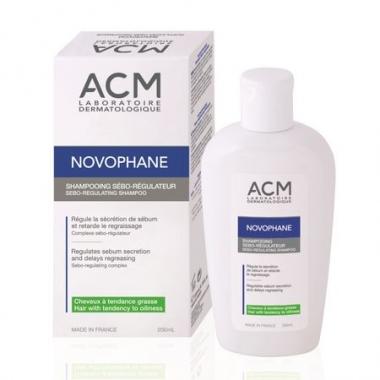 Sampon sebo-reglator Novophane ACM, Unisex, 200 ml