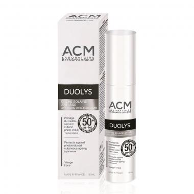 Crema pentru protectie solara anti-imbatranire SPF 50+ Duolys ACM, Unisex, 50 ml