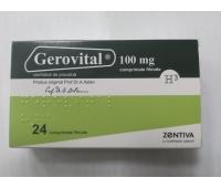 Gerovital H3, 24 cpr , Zentiva