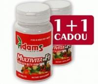 MULTIVITA+FE 30CPR 1+1 GRATIS