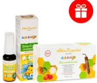 APIELIXIR FIOLE 15*10ML+SPRAY APIJUNIOR 20ML GRATIS