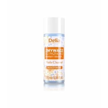Dizolvant fara acetona pentru lacul de unghii Delia 100 ml