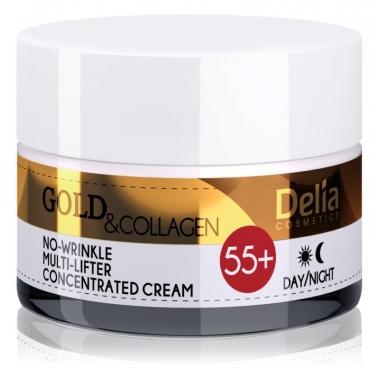 Crema antirid aur&collagen 55+ 50ml DELIA COSMETICS