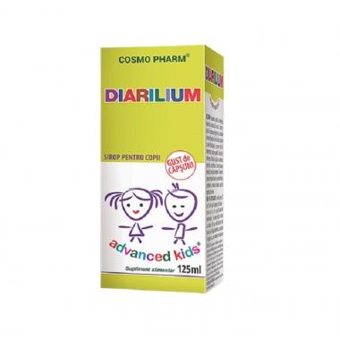 Sirop antidiareic Diarilium, 125 ml, Cosmopharm