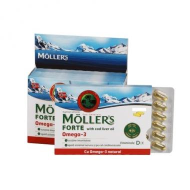 MOLLER'S FORTE OMEGA 3 COD LIVER OIL