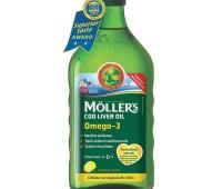 MOLLER'S COD LIVER OIL OMEGA 3 aroma de LAMAIE