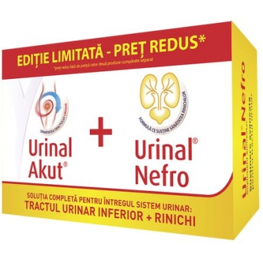 URINAL URINAL AKUT CT *10 TB+URINAL NEFRO CT *20 TB PACHET PROMO