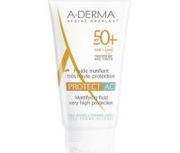 Aderma Protect Ac Fluid Matifiant SPF 50+ , 40ml