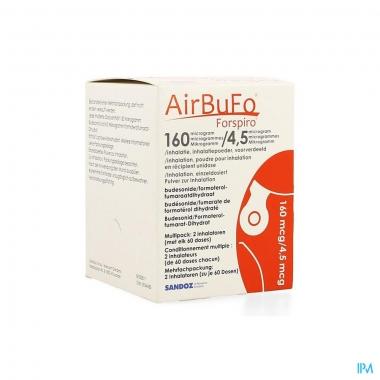 AIRBUFO FORSPIRO 160mcg/4.5mcg